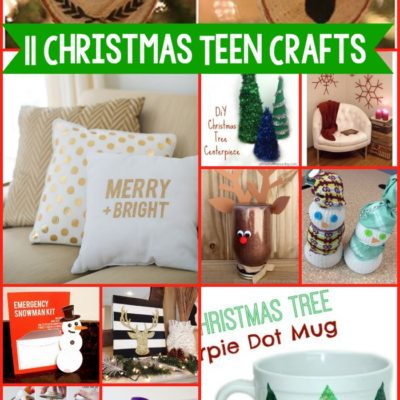 11 DIY Christmas Teen Crafts thumbnail
