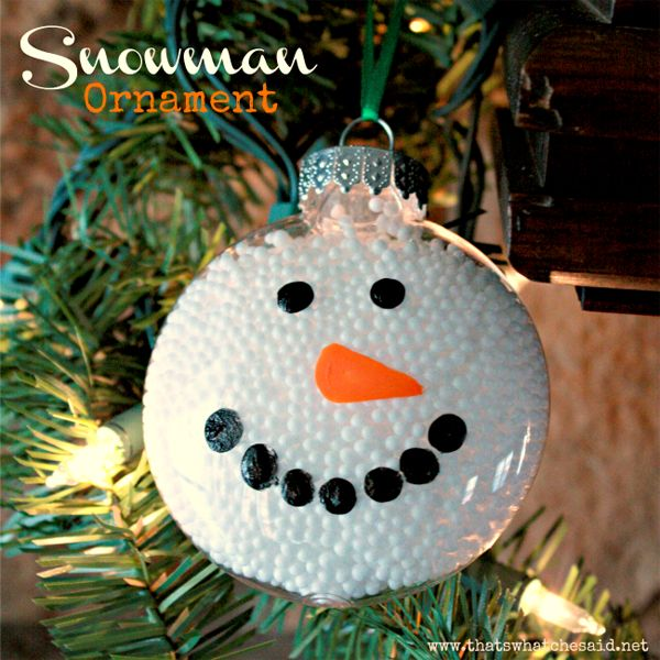 28 Christmas Ornament Crafts For Kids