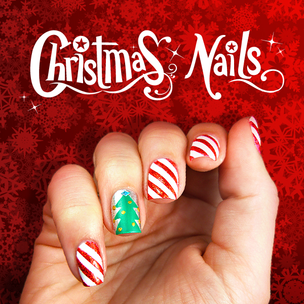 SCOTCH MAGIC NAILS: CHRISTMAS TUTORIAL - A Little Craft In Your Day