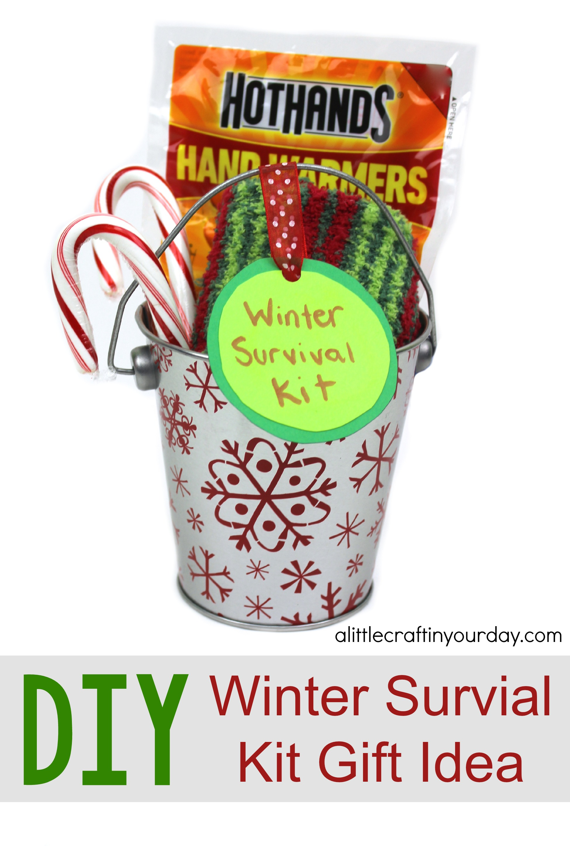 Diy Winter Survival Kit A Little Craft In Your Day
