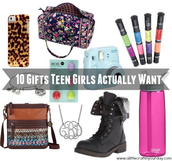 10 Gifts Teen Girls Actually Want A Little Craft In Your Day