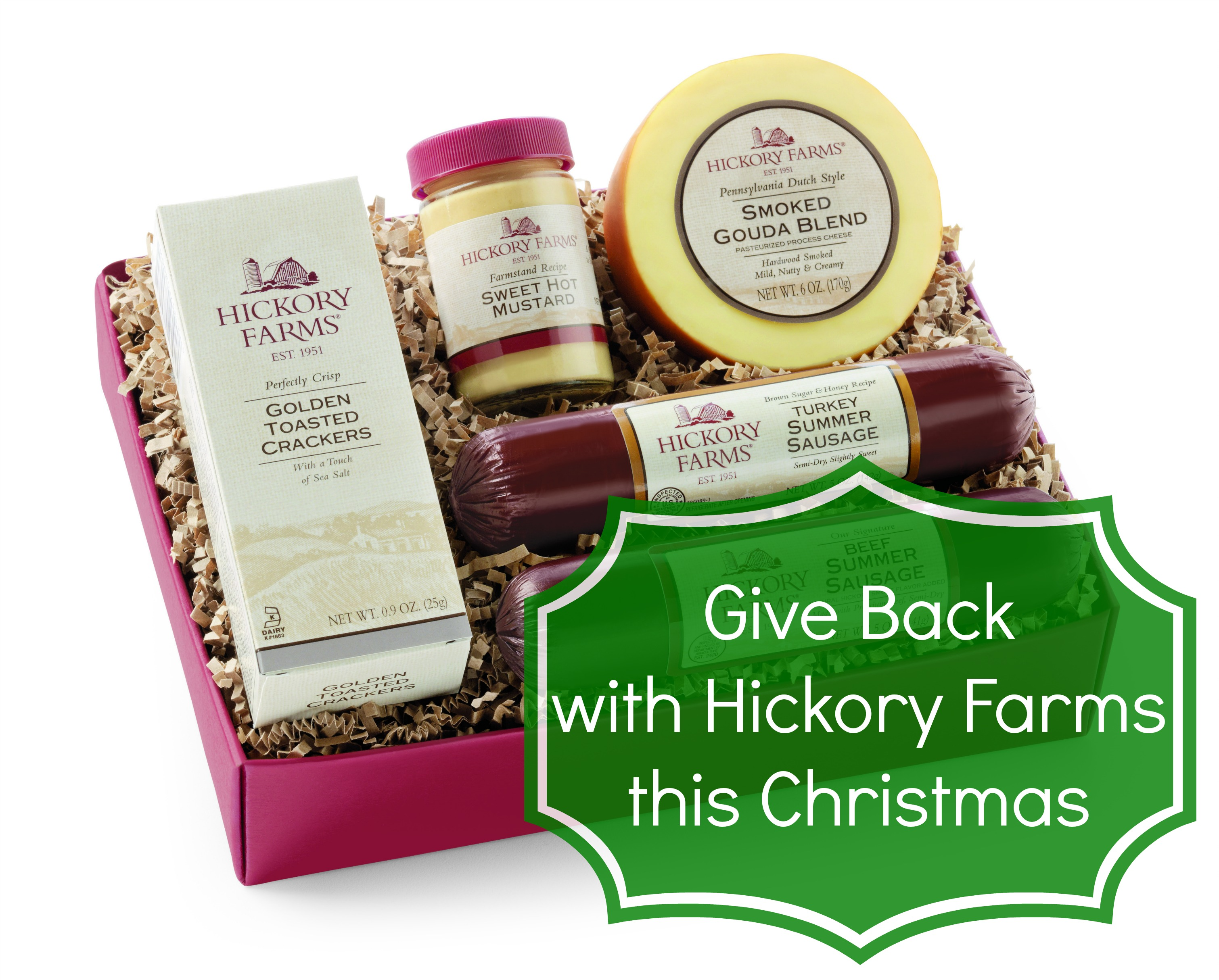 Give Back with Hickory Farms this Christmas - A Little Craft In Your Day