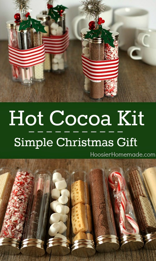 Hot chocolate gift set christmas