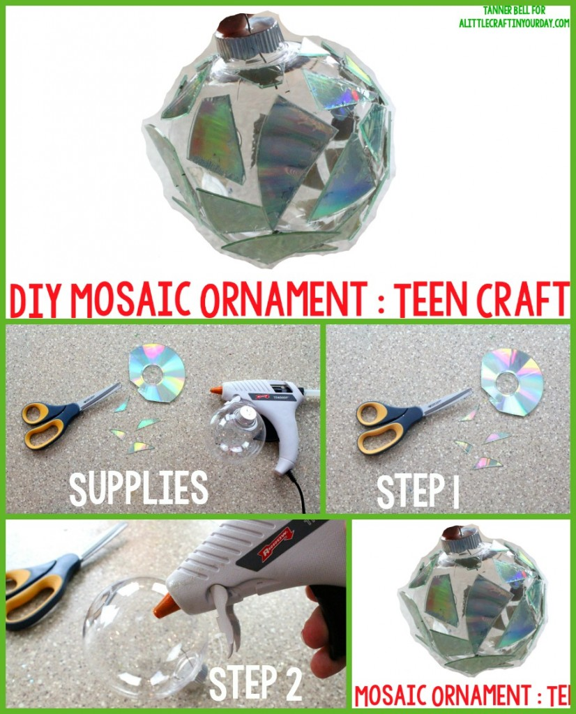 Mosaic Ornament Collage