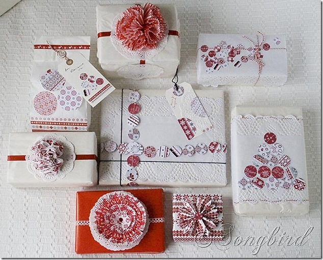 Songbird Christmas White Red Gift Wrapping 10_thumb[1]