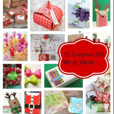 15 Creative Gift Wrap Ideas thumbnail