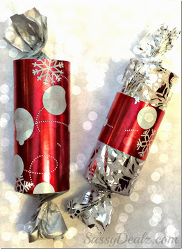 decoracao de interiores wc:DIY Toilet Paper Roll Christmas Gifts