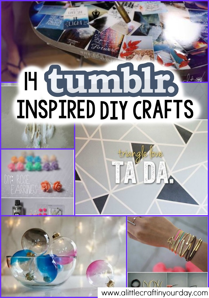 14 Tumblr Inspired DIY Crafts