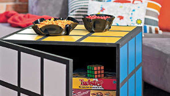 How To Make A Rubiks Cube Coffee Table Little Craft