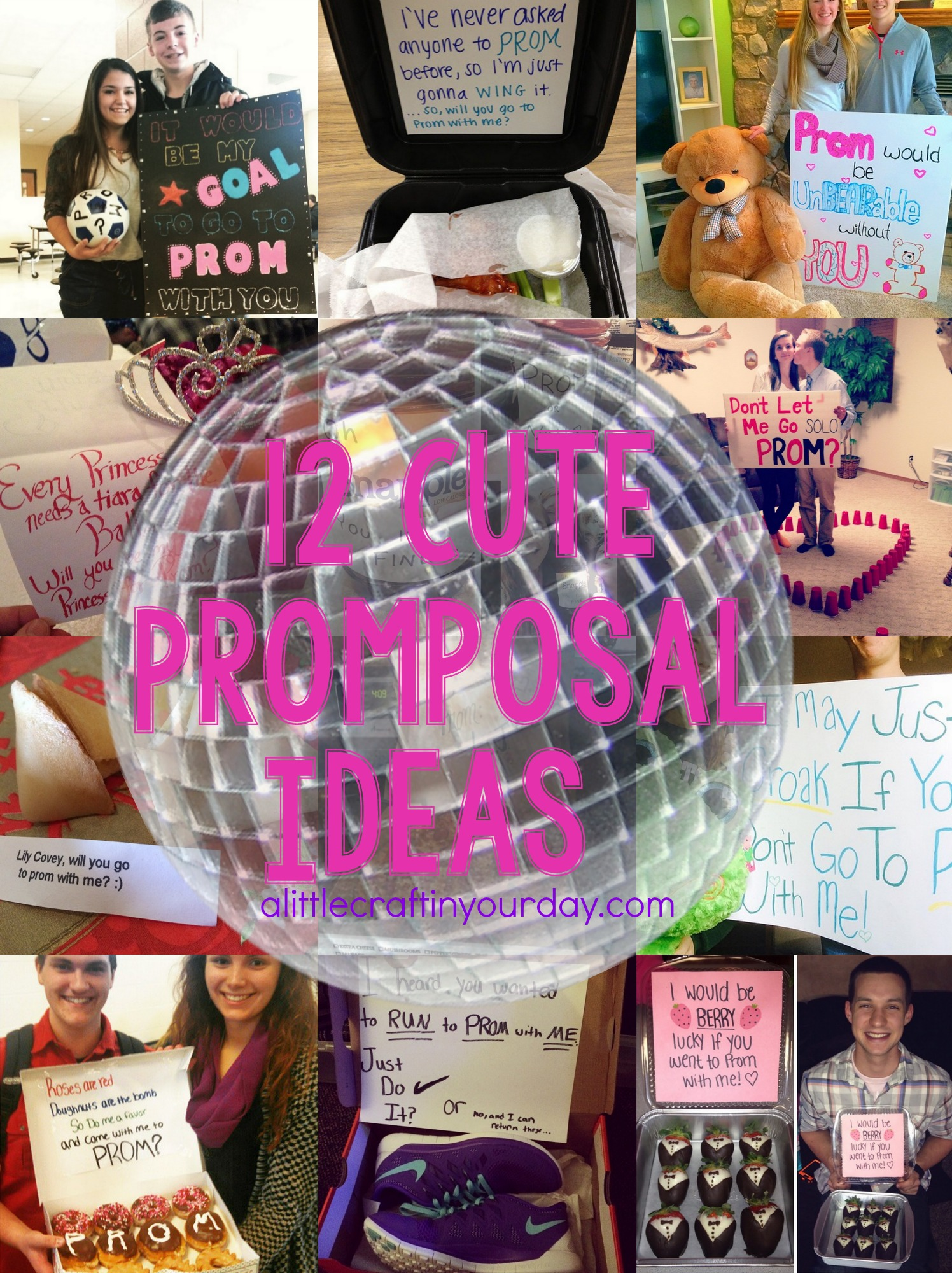 12 cute promposal ideas a little craft in your daya little craft in