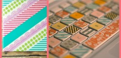 14 DIY Projects Using Washi Tape