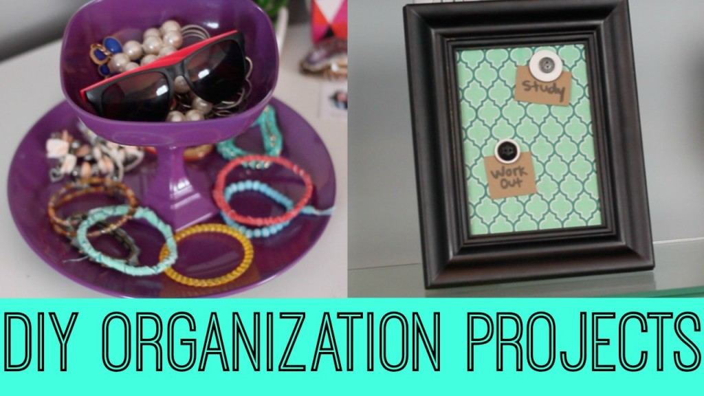 DIY Organization Projects A Little Craft