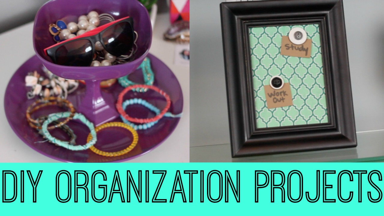 DIY Organization Projects - A Little Craft In Your Day