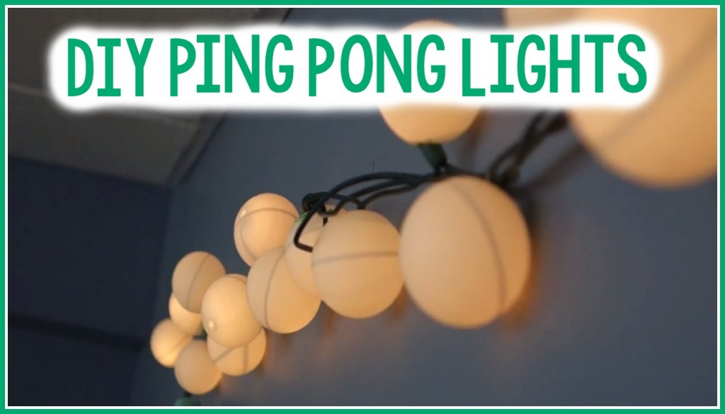 Diy ping pong lights a little craft in your day - Ping pong christmas lights ...