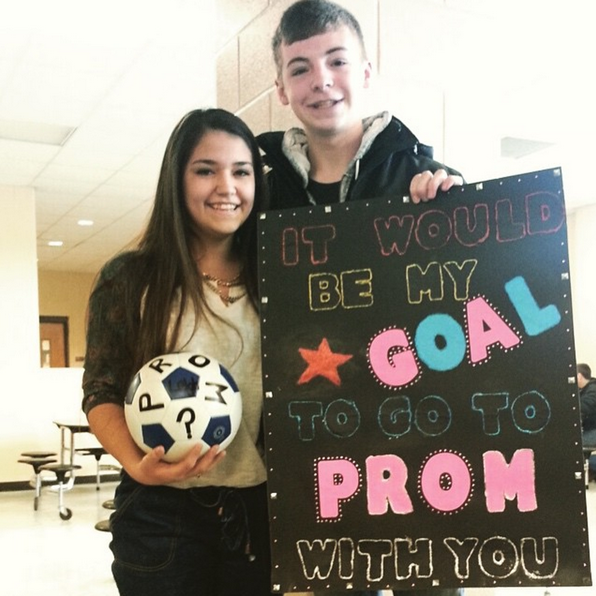 Christmas Homecoming Proposal.12 Cute Promposal Ideas A Little Craft In Your Day