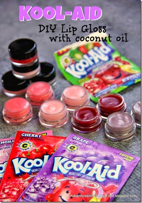 Diy Kool Aid Lip Gloss A Little Craft In Your Day