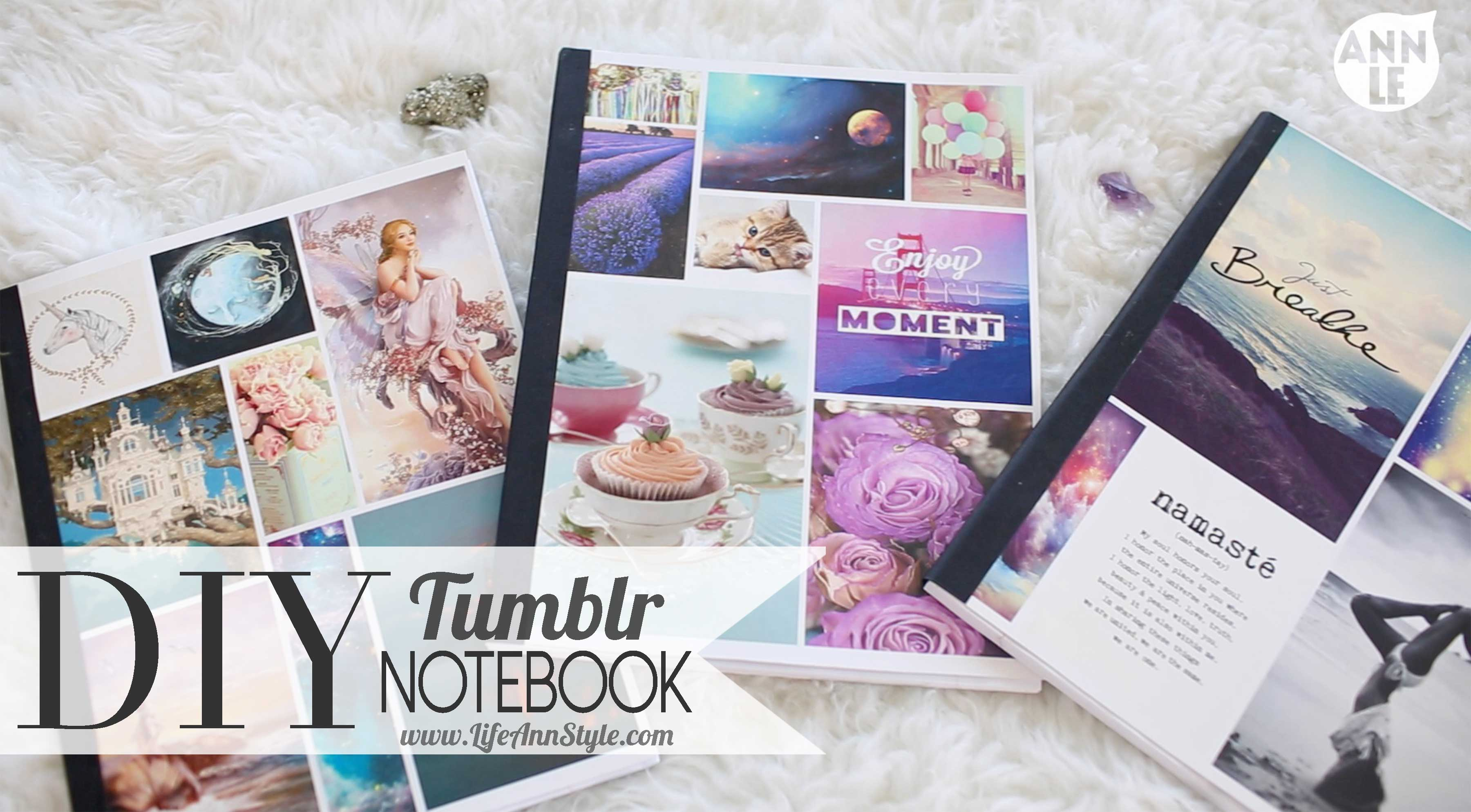 Diy School Book Cover ~ Diy tumblr inspired notebooks a little craft in your day