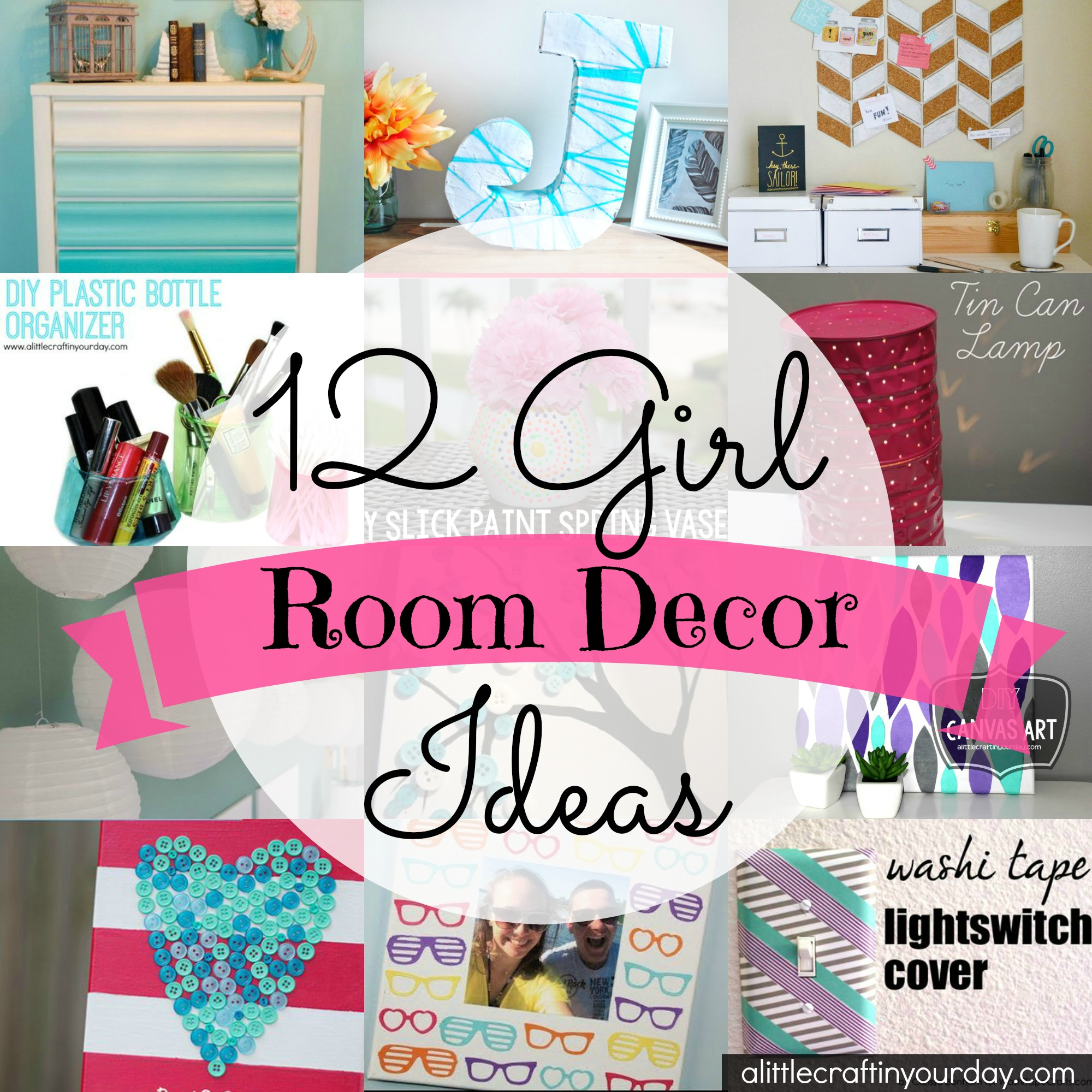 Girl room decor ideas for Ideas to decorate my room