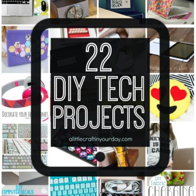 22 DIY Tech Projects thumbnail