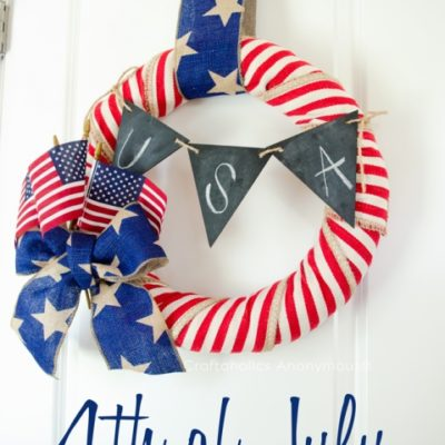 DIY 4th of July Wreath thumbnail