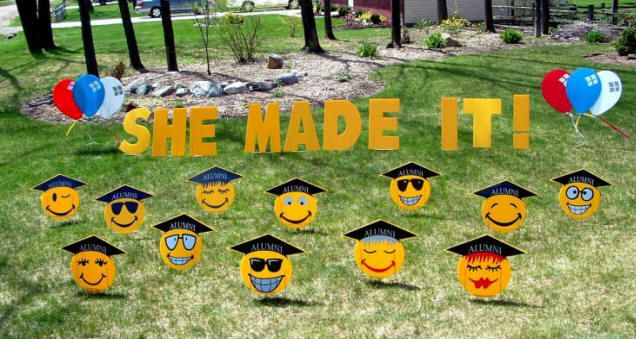 25 DIY Graduation Party Ideas - A Little Craft In Your Day