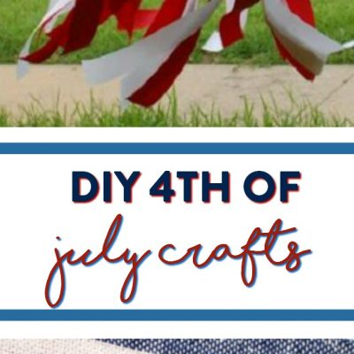 DIY 4th Of July Crafts – 20+ ideas! thumbnail