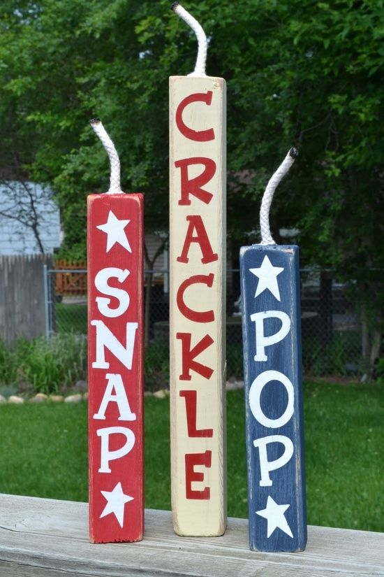 Diy 4th of july crafts 20 ideas a little craft in for 4th of july decoration