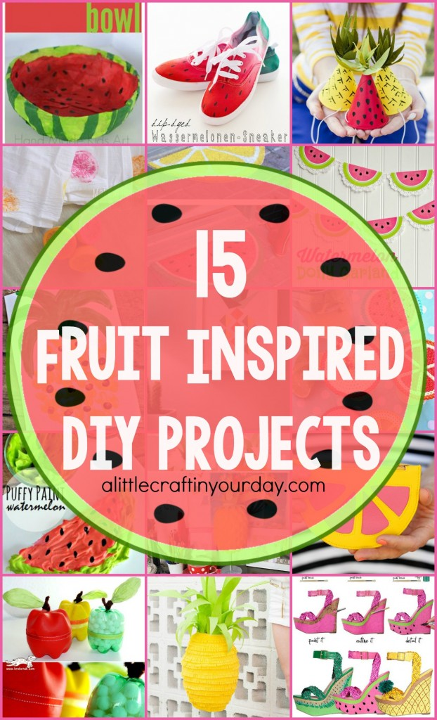15_Fruit_Inspired_DIY Projects