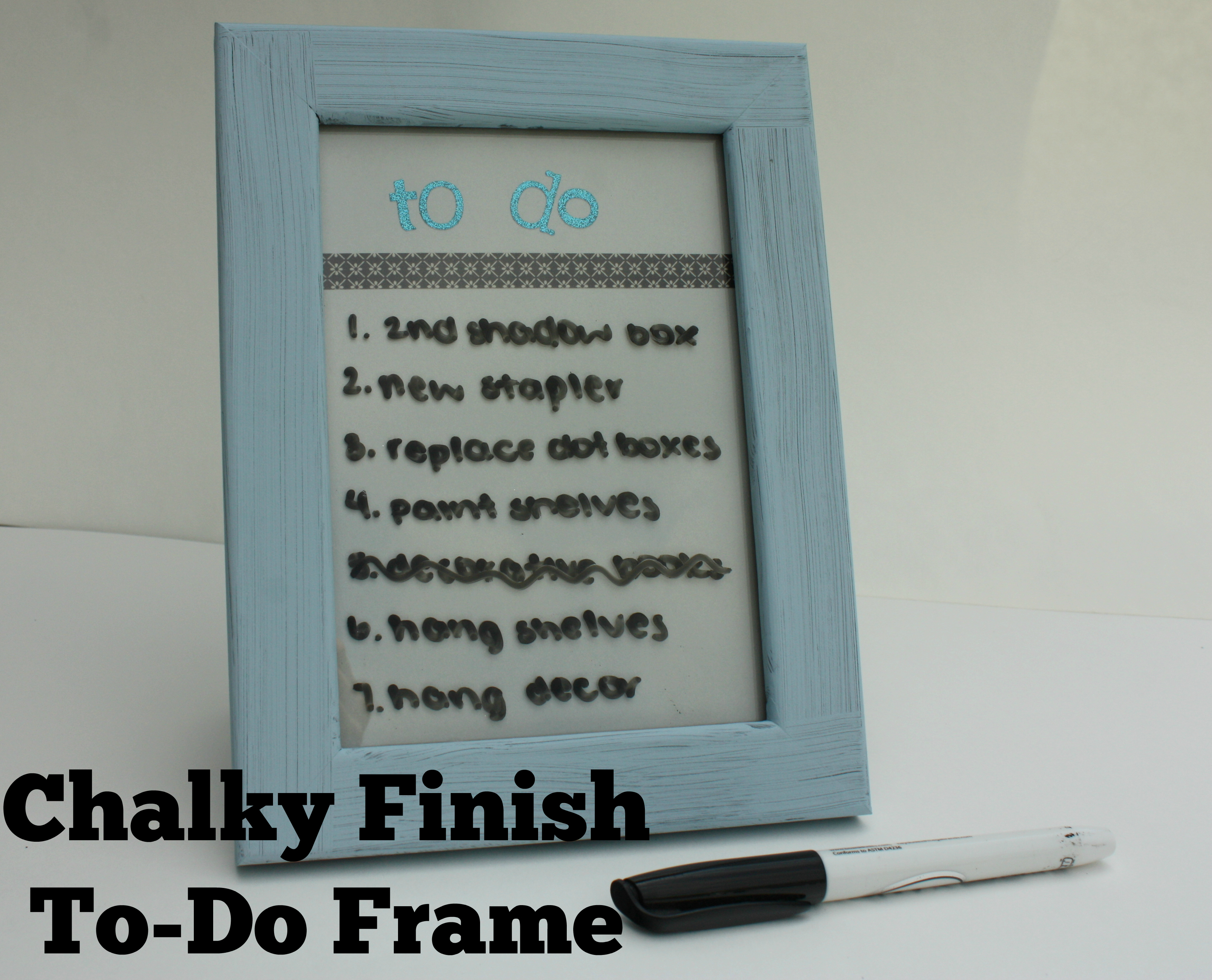 DecoArt Dry Erase Board Frame - A Little Craft In Your Day