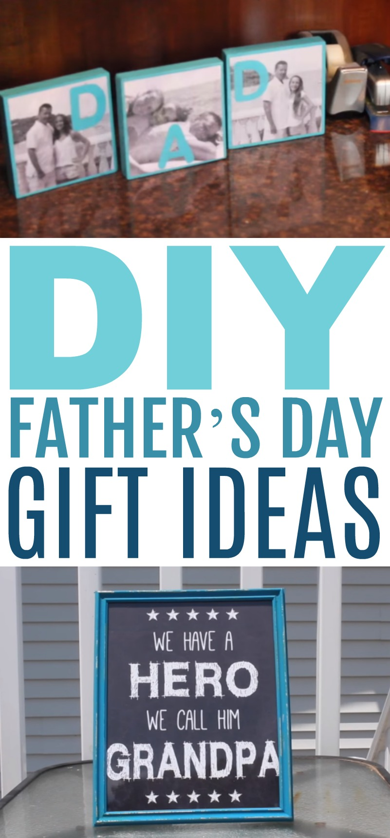 DIY Father\'s Day Gift Ideas - A Little Craft In Your Day