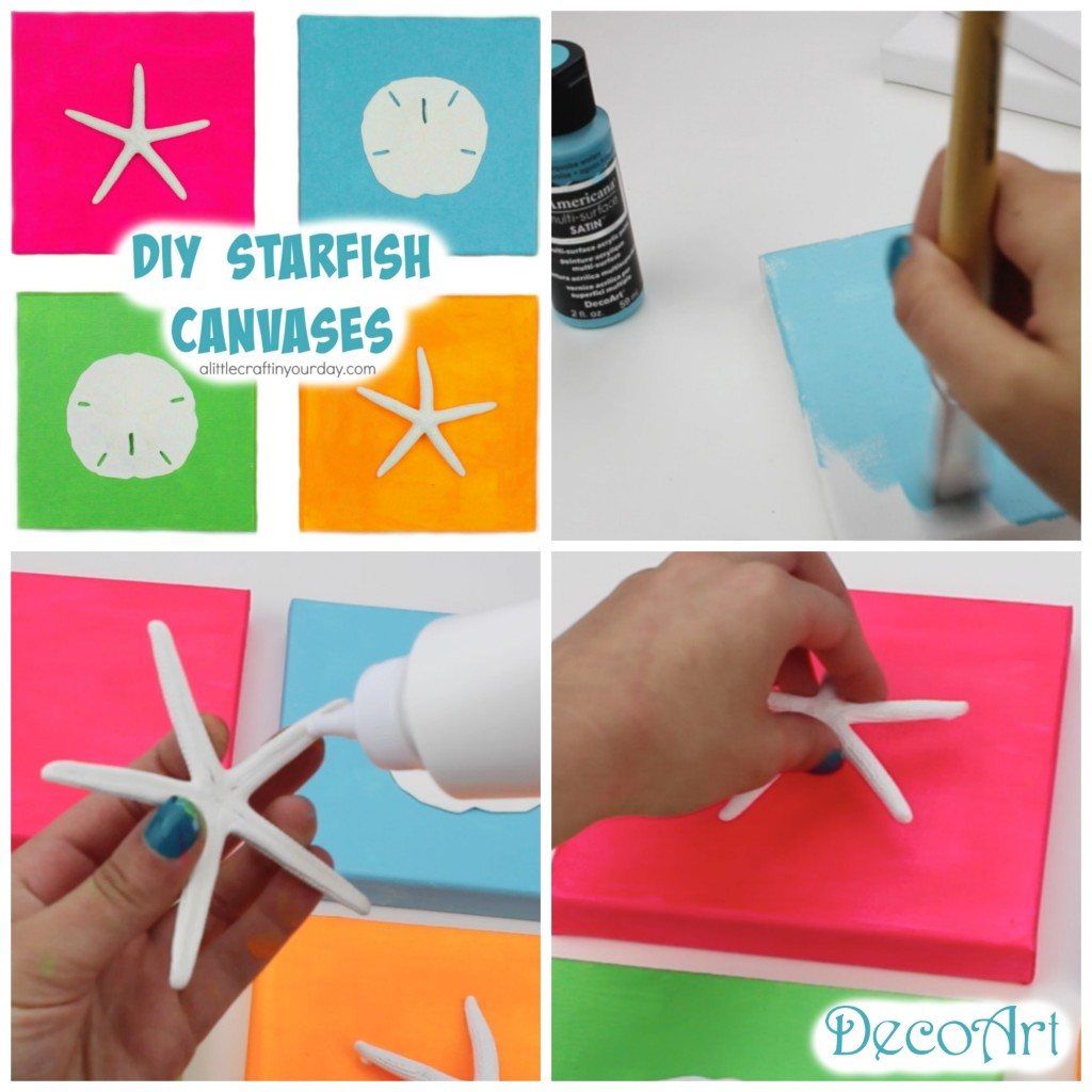 DIY_STARFISH_CANVASES
