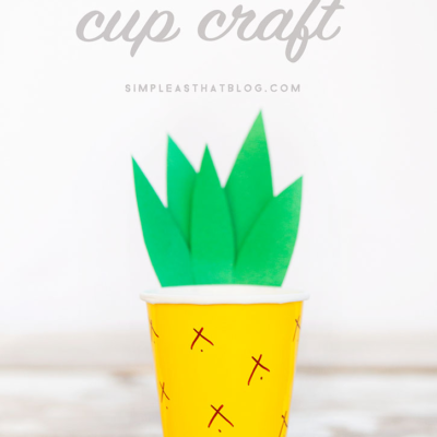 Pineapple Cup Craft thumbnail