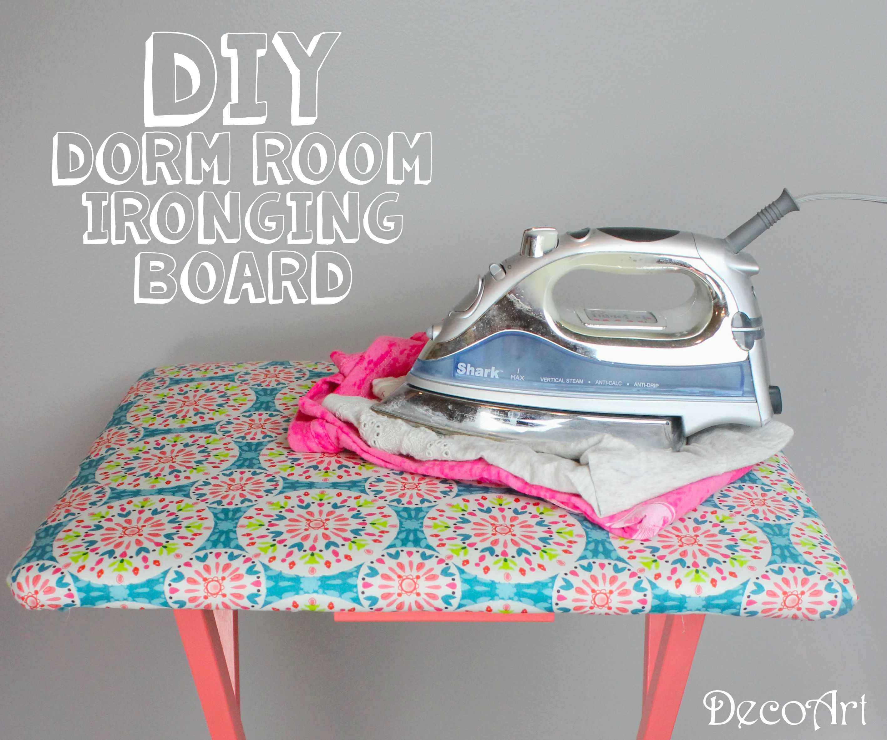 diy dorm room ironing board a little craft in your day