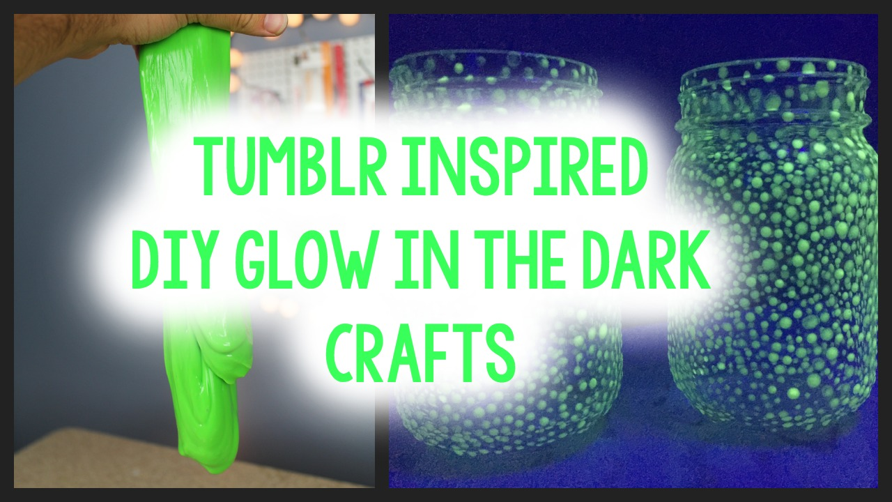 Craft Ideas For Glow In The Dark Paint