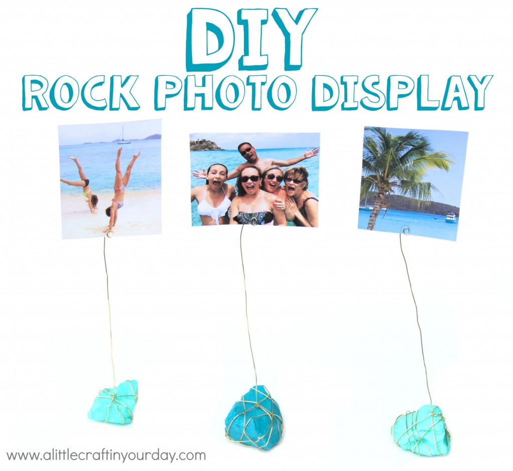 DIY_Rock_Photo_Display