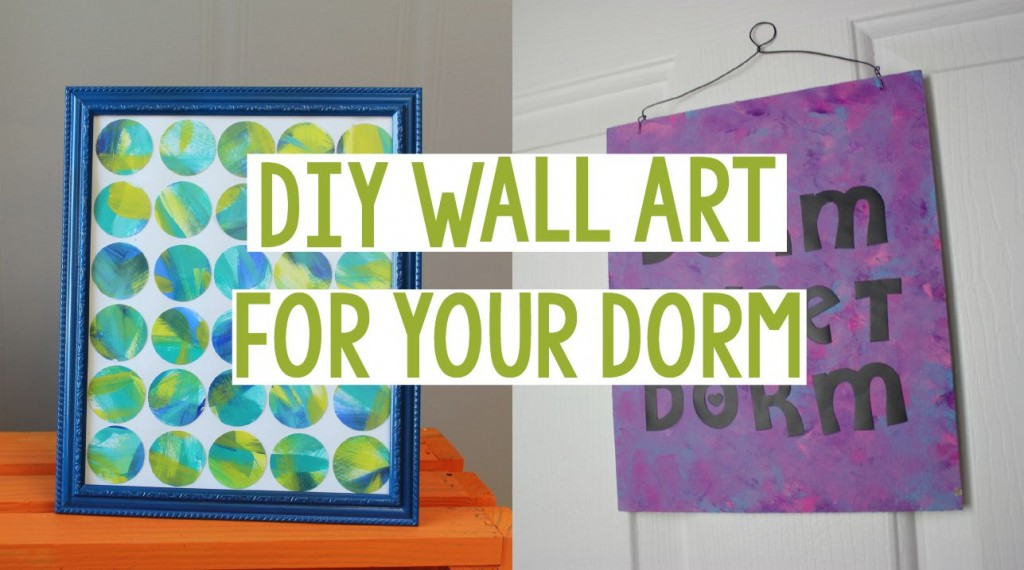 DIY Wall Art For Your Dorm A Little Craft In Your Day