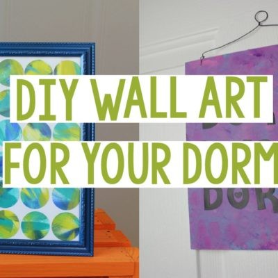 DIY Wall Art for Your Dorm thumbnail