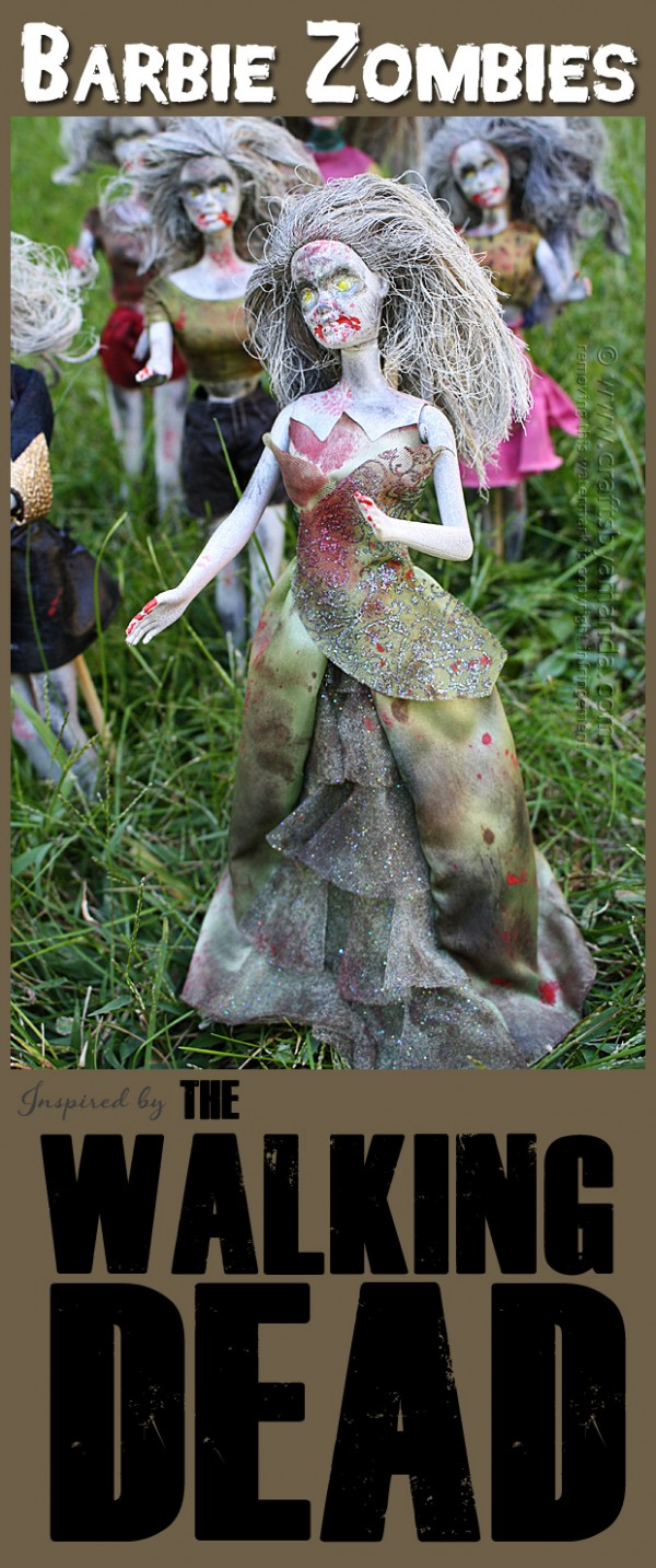 Barbie Zombies A Little Craft In Your Day