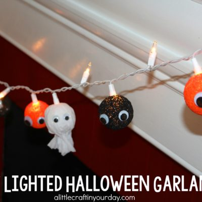 DIY Lighted Halloween Garland thumbnail