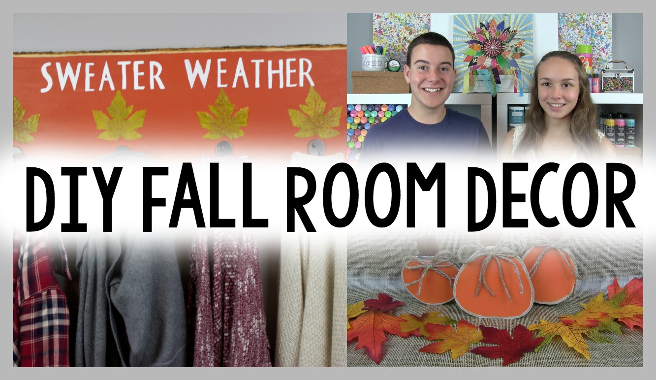 diy fall decor ideas a little craft in your day. Black Bedroom Furniture Sets. Home Design Ideas