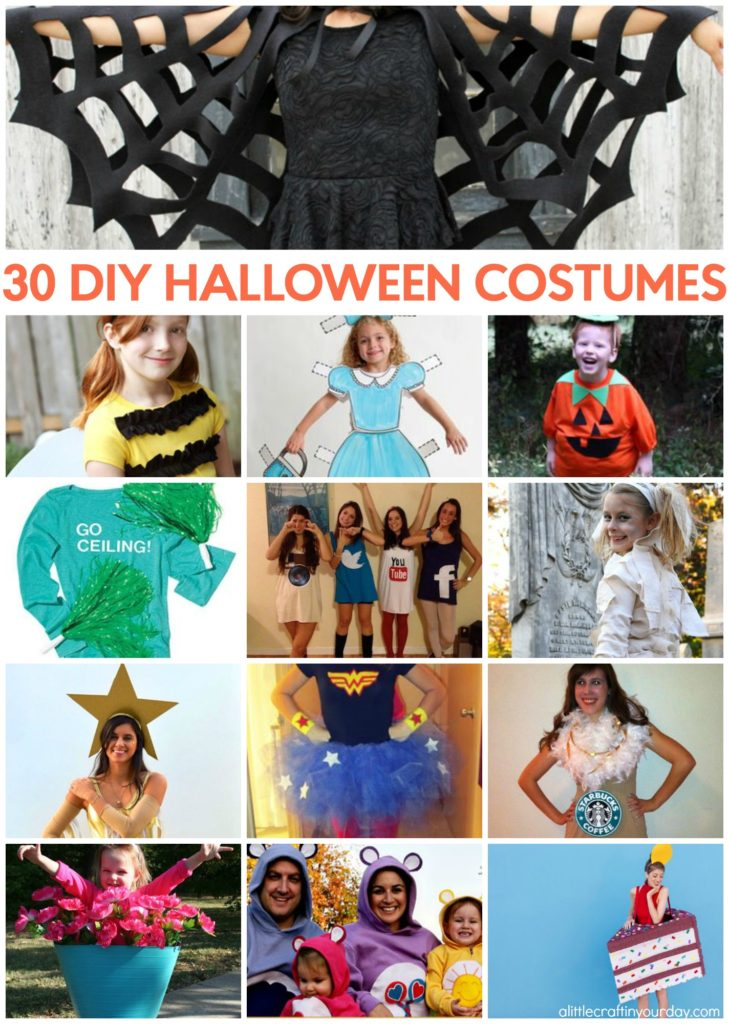 30 DIY Halloween Costumes - A Little Craft In Your DayA Little Craft