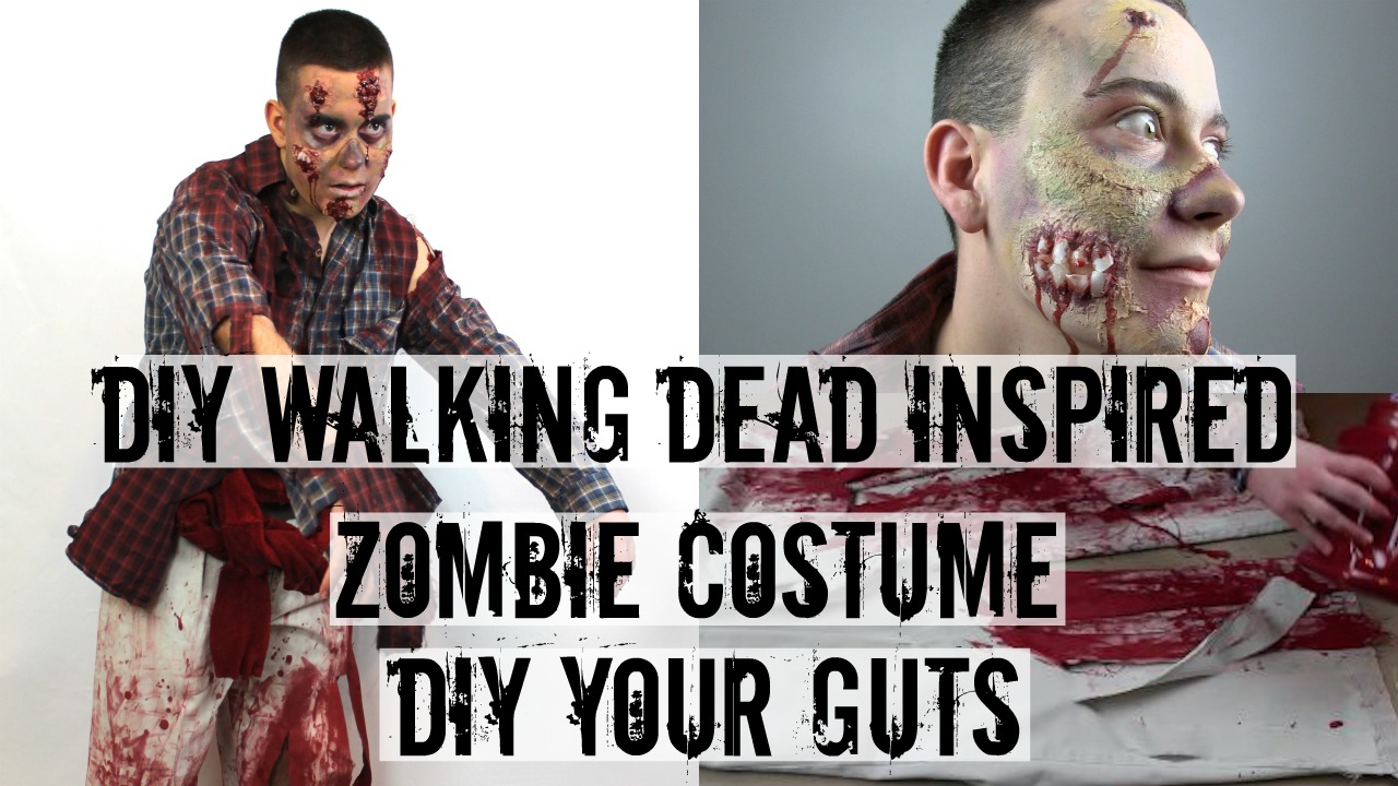 Diy Your Guts Zombie Costume A Little Craft In Your Day