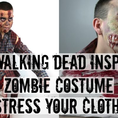 Distress Your Clothes |DIY Zombie Costume thumbnail