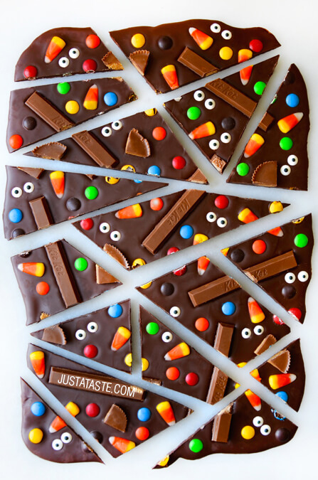 Diy Halloween Candy Bark A Little Craft In Your Day