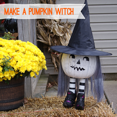 DIY Pumpkin Witch thumbnail