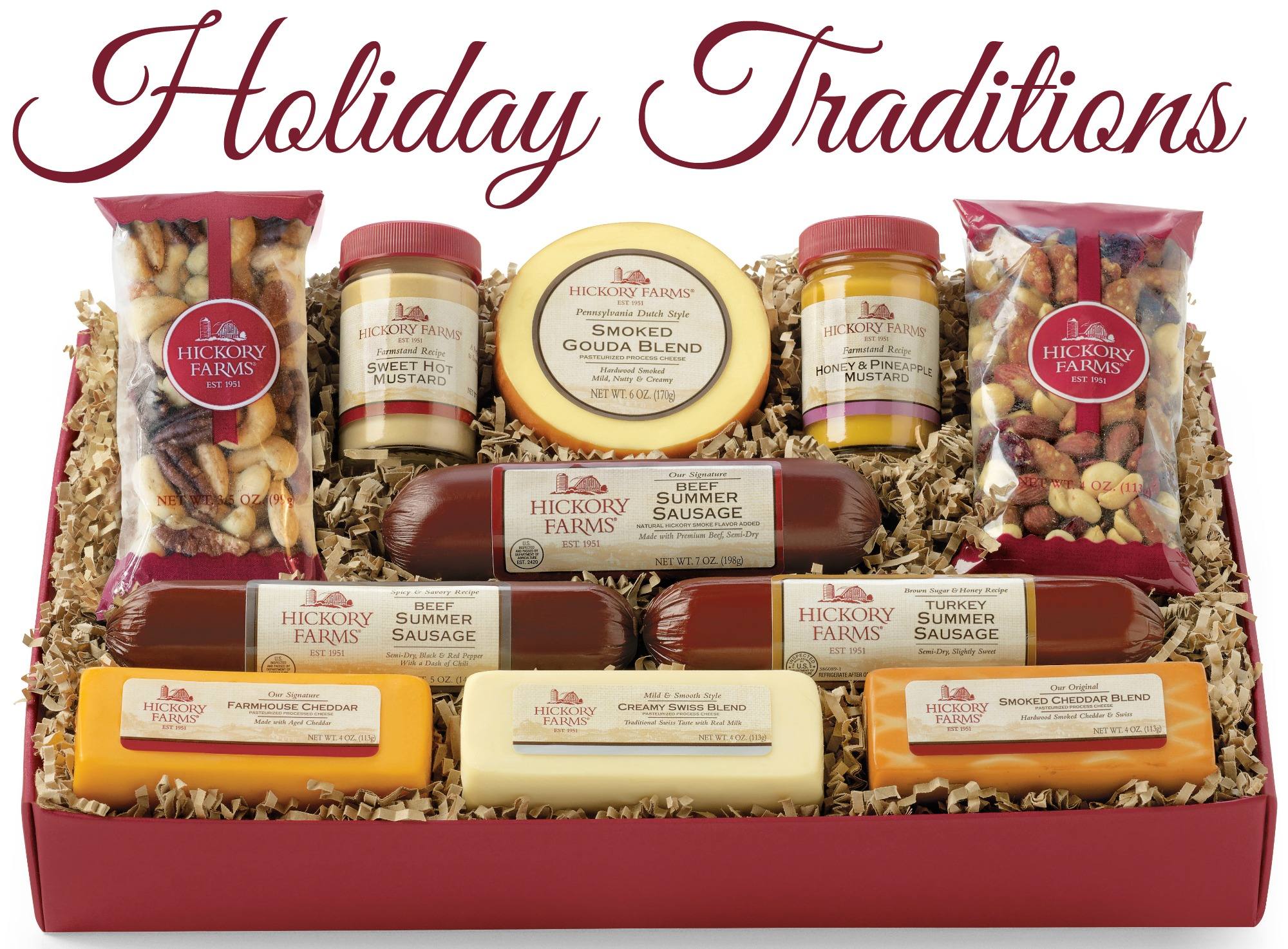 Holiday Traditions with Hickory Farms - A Little Craft In Your Day