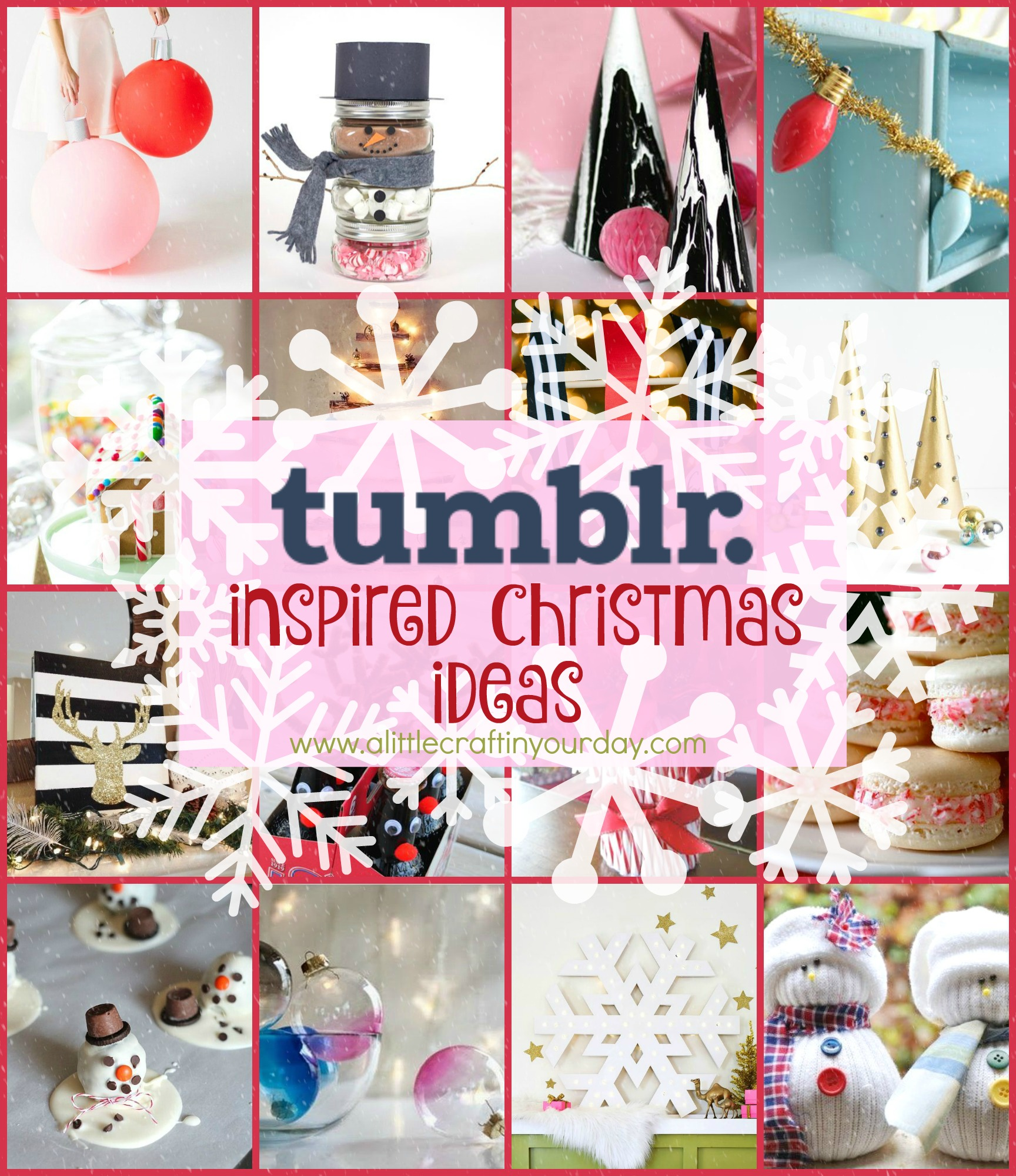 Tumblr Inspired DIY Christmas - A Little Craft In Your Day