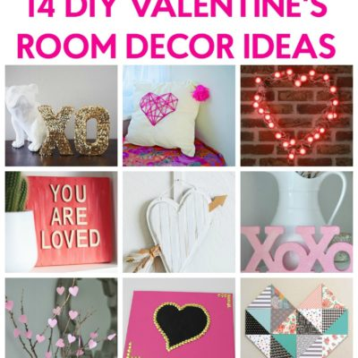 Valentine 39 s day gift basket for mom a little craft in for Valentine room ideas