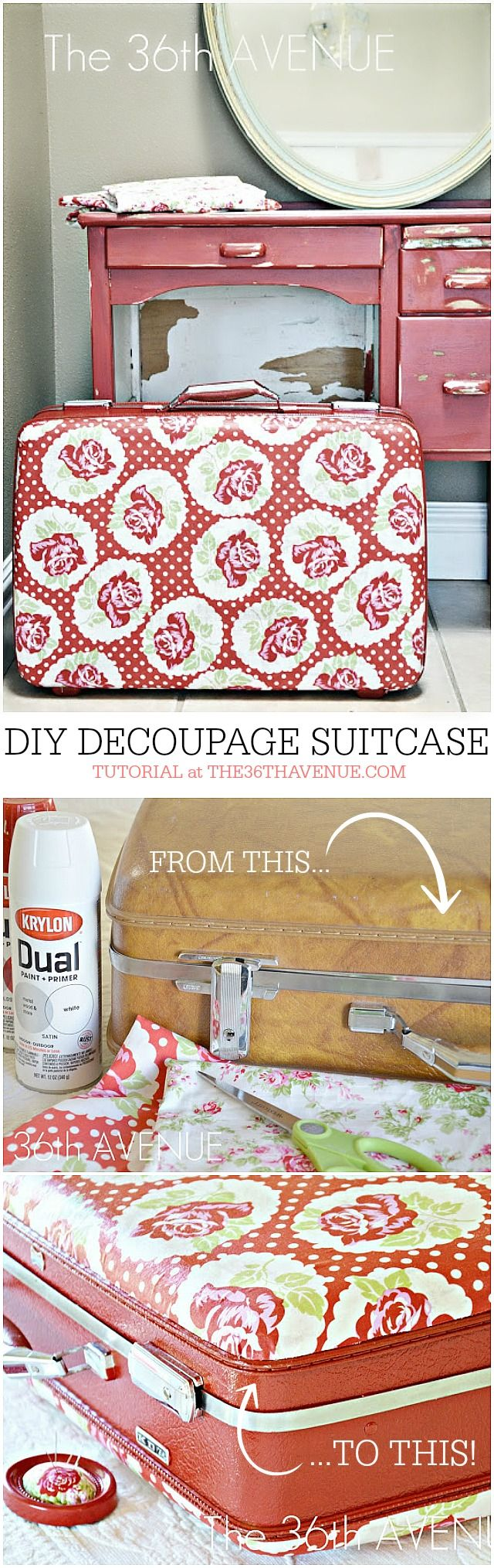 18 DIY Decoupaged Projects - A Little Craft In Your Day