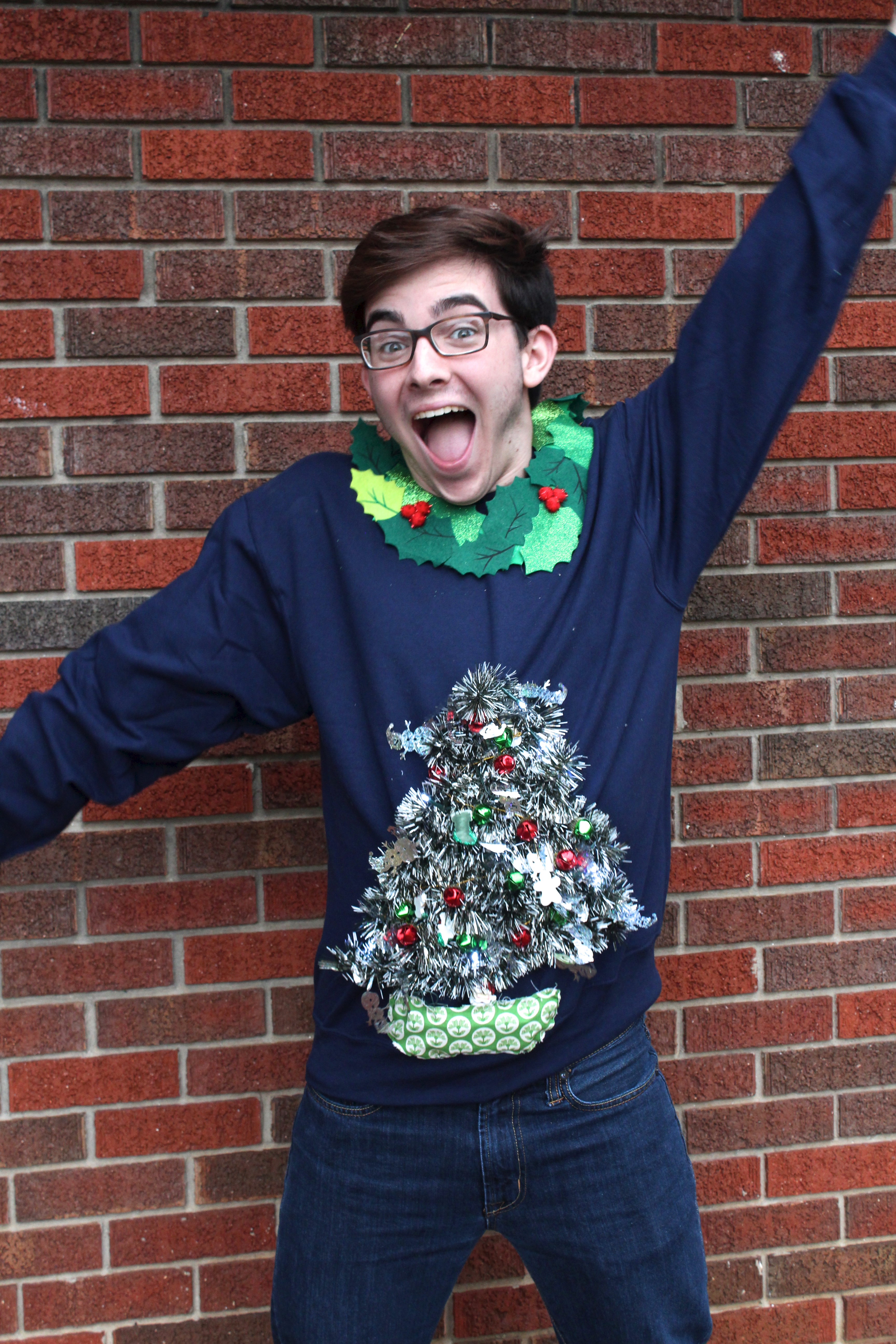 Diy Ugly Sweater Tutorial A Little Craft In Your Day